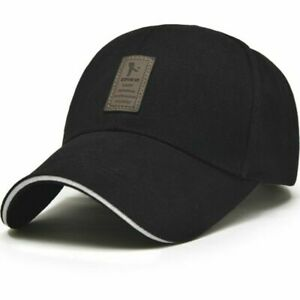 first look autumn shoes release info on Men's Baseball Hat Adjustable Cap Casual Hats Solid Color Fashion ...