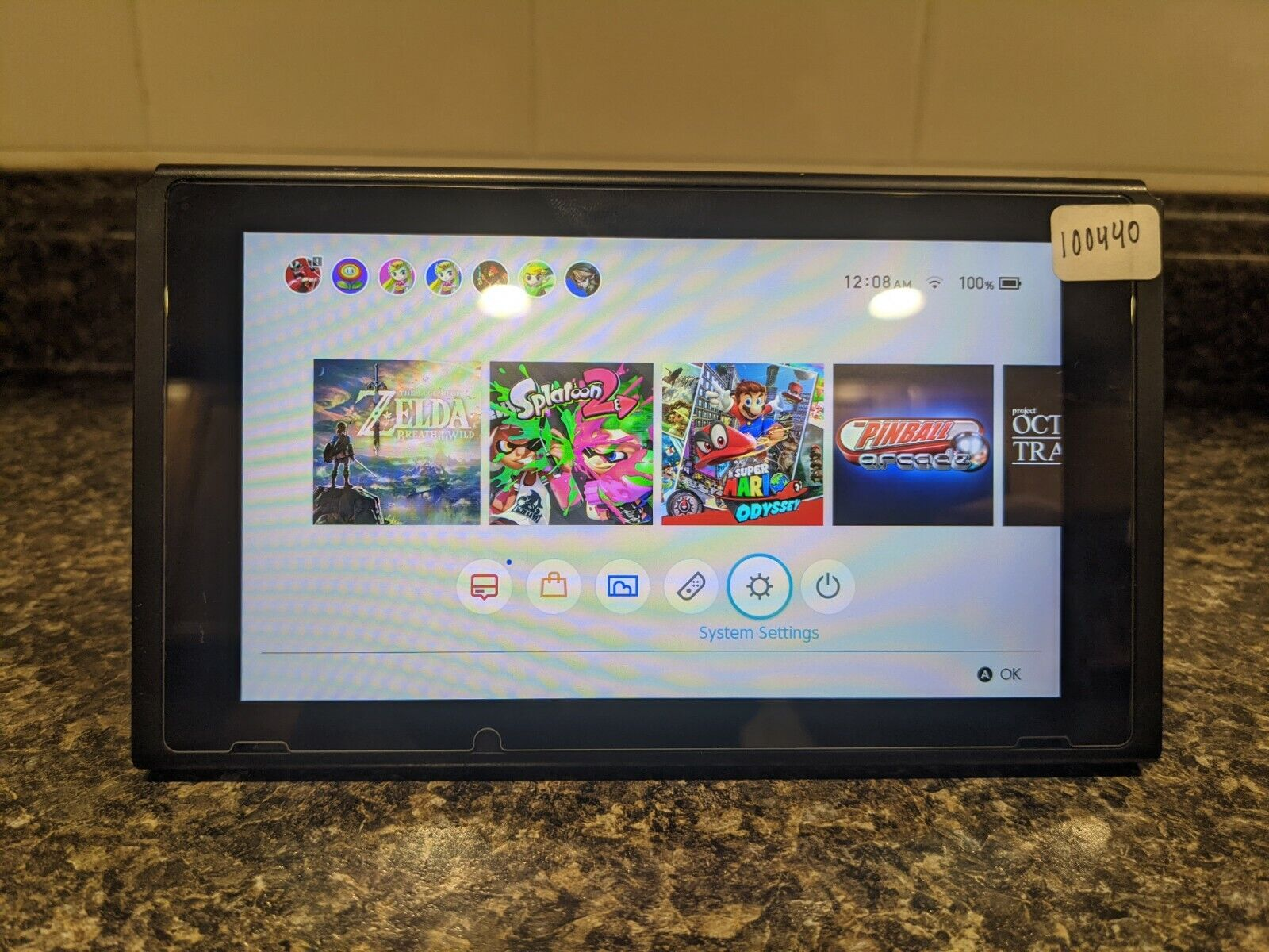 Nintendo Switch 32GB Console only - HAC-001 patched