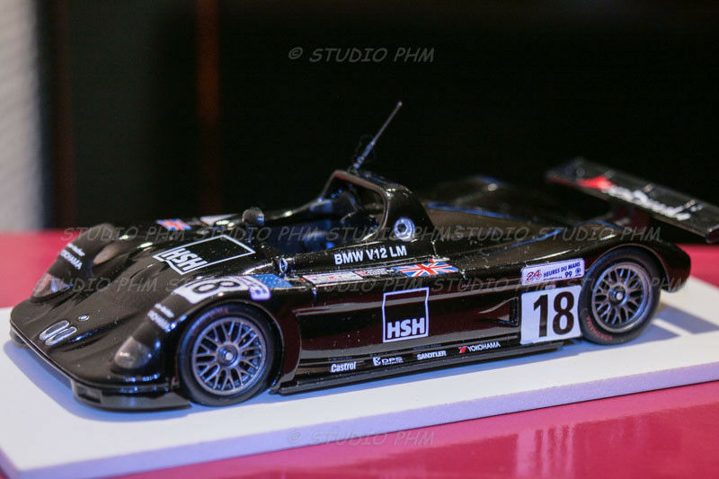 BMW V12LM 98 N°18 Price Racing Bscher 5° 24H MANS 99 VERY RAR Minichamps1 43
