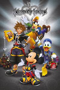 - Maxi Poster 61cm x 91.5cm Disney Kingdom Hearts Classic PP34334-558