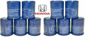 15400-PLM-A02 3 Genuine Honda//Acura Oil FIlters with drain plug wahsers