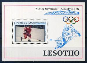 Lesotho-1992-Mi-Bl-93-Bloc-Feuillet-100-Jeux-olympiques