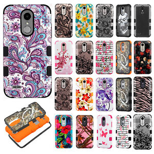 Details about For MetroPCS LG Aristo 3 IMPACT TUFF HYBRID Protector Case  Skin Phone Cover