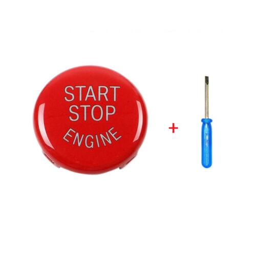 Démarrage Moteur Stop Interrupteur Bouton Rouge Housse pour BMW E60//E70//E90 E92