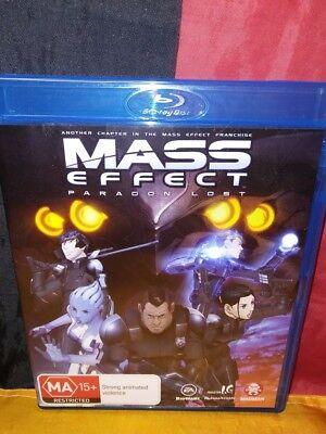 Mass Effect Paragon Lost Blu Ray 2013 Ebay