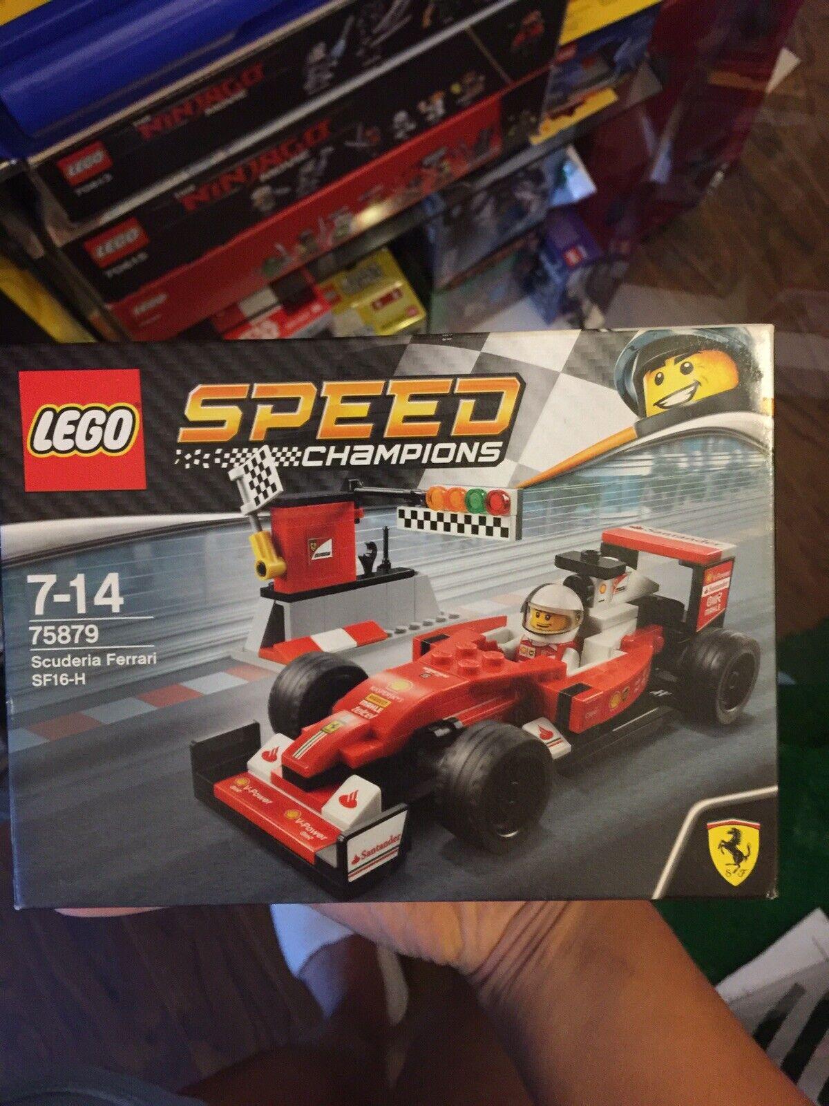 Lego Lego Lego speed champions Scuderia Ferrari 75879 New bfe569