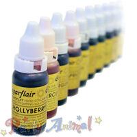 Sugarflair Droplet Food Colour - Edible Liquid Tint Sugarcraft Cake Decorating
