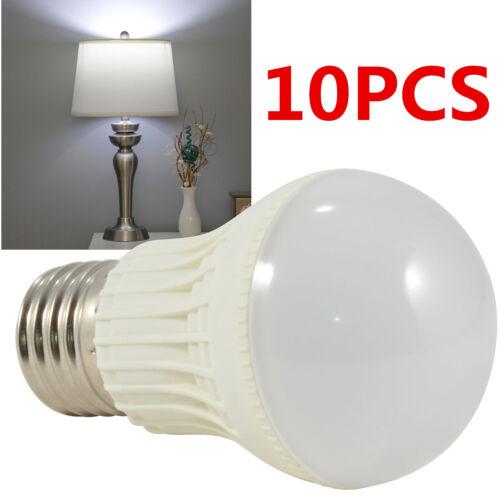 10PCS E27 LED Bulbs Lamp Home Camp Bedroom Hunting Emergency Light White DC 12V