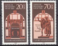DDR 1988 Mi. Nr. 3153-3154 Postfrisch ** MNH