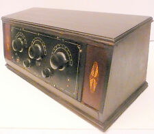 vintage * KISMIT 5 tube BATTERY MODEL RADIO... Untested w/ NO TUBES - nice box