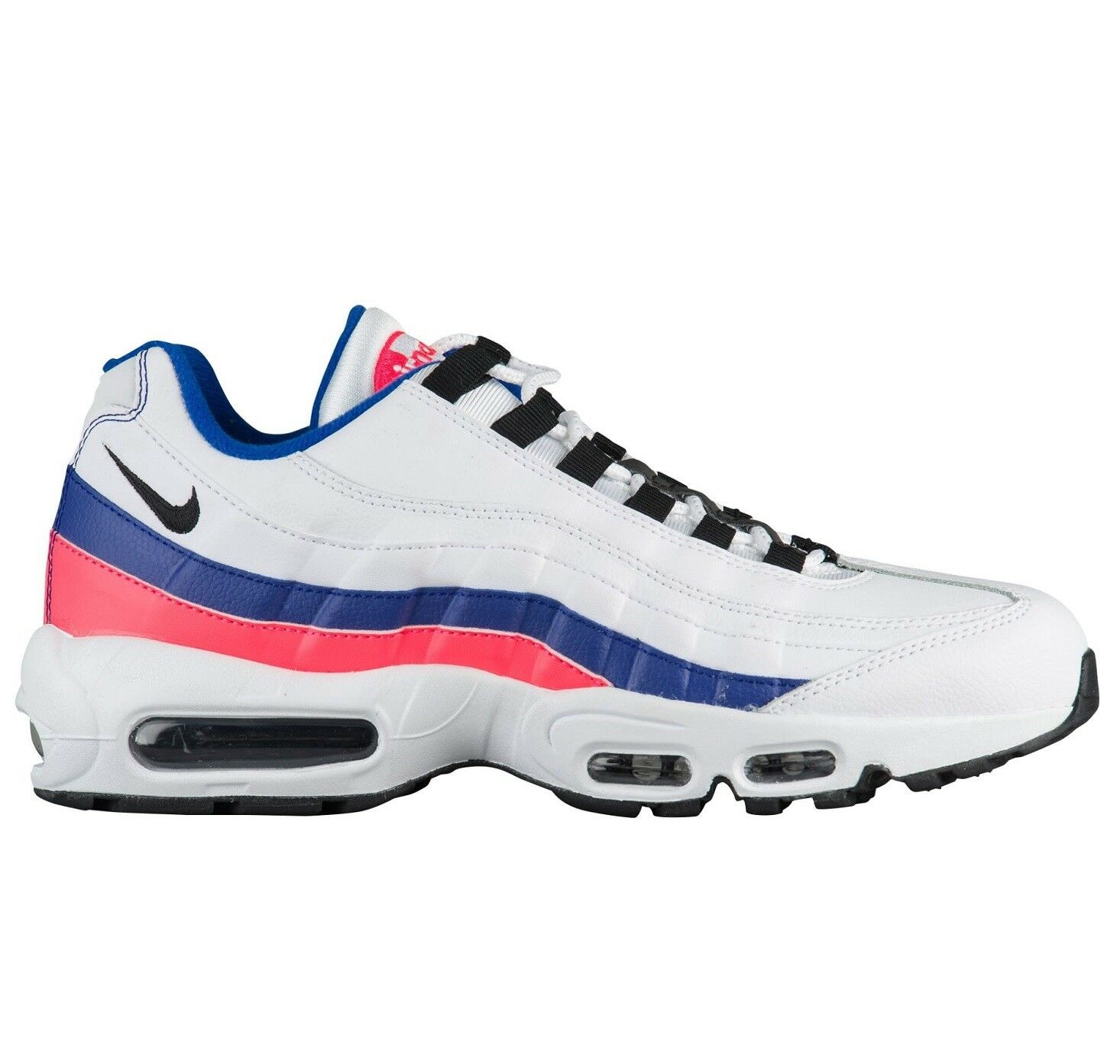 Nike Air Max 95 Essential Mens 749766-106 Ultramarine Solar Red Shoes Size 12