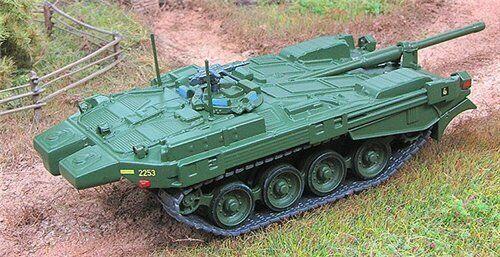 "Fabbri 1:72 tank Strv 103B /& mag №10 series /""World Military Machines/"""