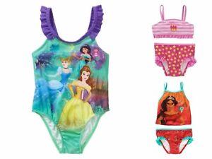 95ec11afde New Disney Princess 1 pc Swimsuit UPF+50 Tankini 2 pc Avalor Batgirl ...