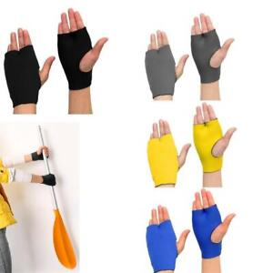 1 Pair Neoprene Kayak Rowing Rafting Paddle Gloves Hand Finger Palm Protector