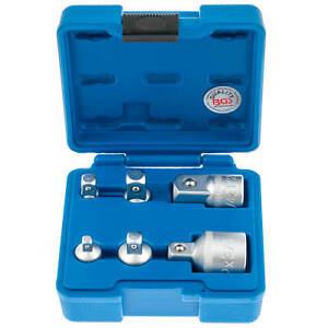 Steckschluessel-Satz-Adapter-Nuss-Set-6-tlg-1-4-3-8-1-2-auf-3-4-Zoll-Werkzeug-Kfz