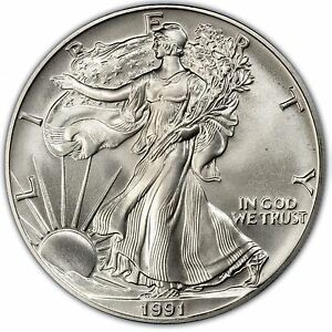 1991 American Silver Eagle Ebay