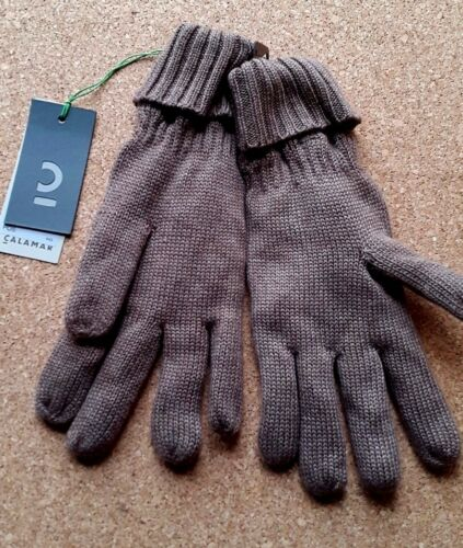 NEW CALAMAR Men/'s Lined Knitted Gloves Large