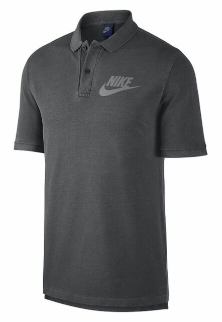 34bb3093 Men's Nike Sportswear Casual Polo Shirt 886491 010 Washed Grey New With  Tags $50