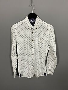TED-BAKER-Shirt-Size-3-Medium-White-Great-Condition-Men-s