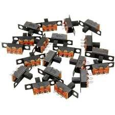 HOT Hotsale 20x DIY 5V 0.3A Mini Size SPDT Slide Switch On-Off 3-Pin PCB Hi-Q