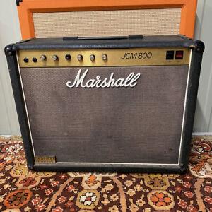Vintage 1986 Marshall JCM800 50w Lead 4104 Valve Amplifier 2x12 Combo G12M-70