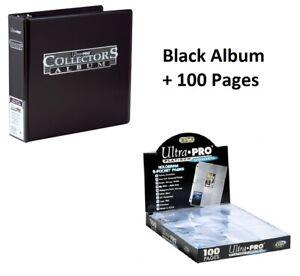 Black 4 /& 9 pocket UltraPRO Collectors Album