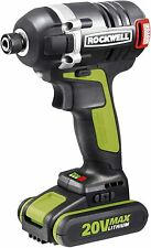 Rockwell RK2868K2 20V Brushless 3-Speed Cordless Impact Driver