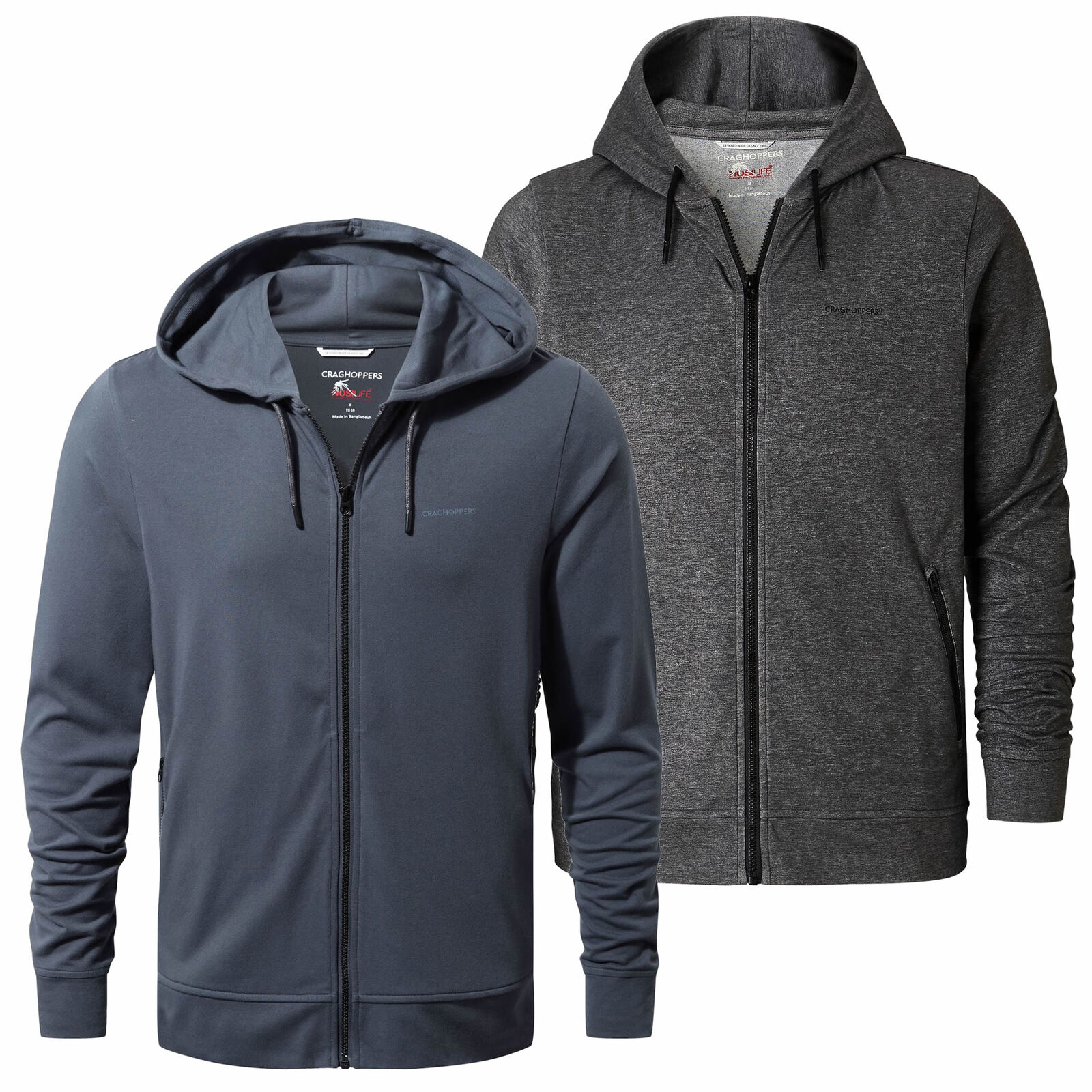 Craghoppers NosiLife Insect Repellent Tilpa Mens Hooded Jacket