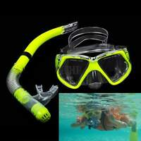 New Scuba Diving Equipment Dive Mask+Dry Snorkel Set Scuba Snorkeling Gear KECP