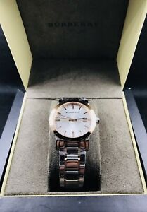 BURBERRY-The-City-Rose-Tone-Mens-Swiss-Made-Watch-BU9006-795-NEW