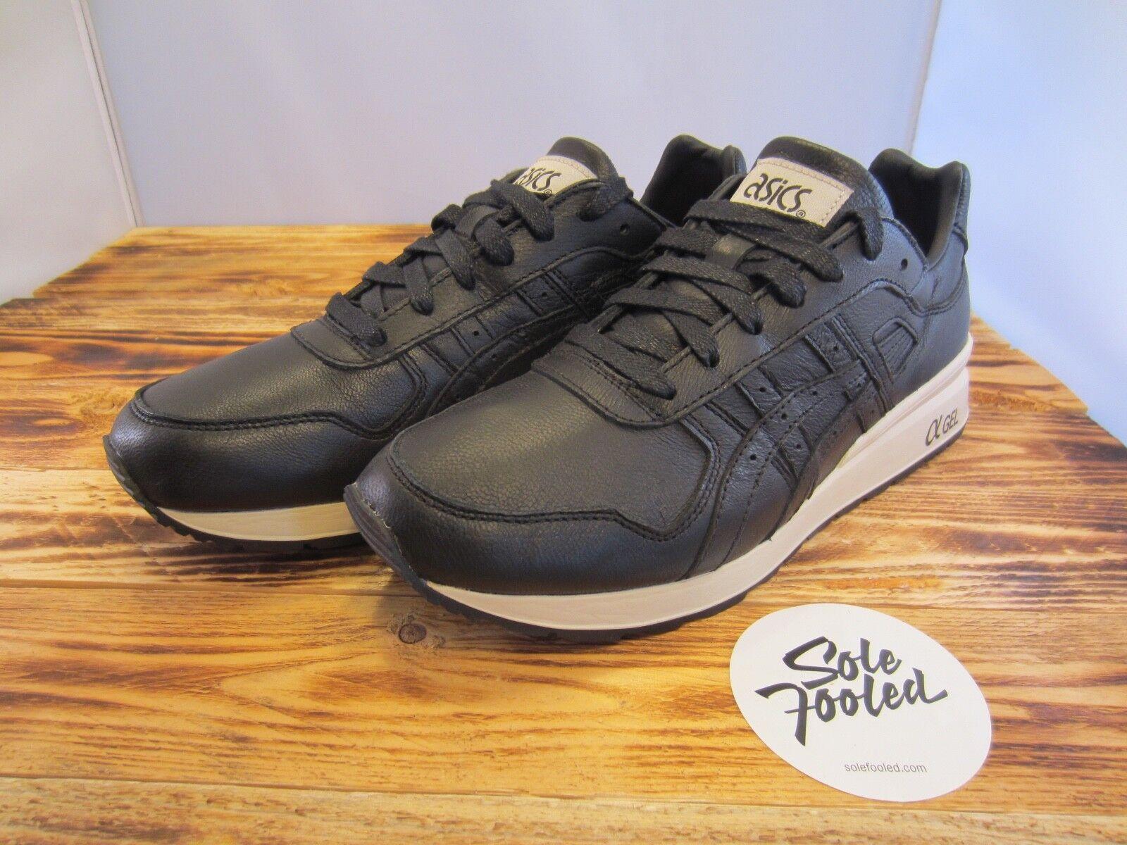 Asics GT-II black Leather (H7L2L-9090) - 42 43 44 45 47 - (2/3/5/V/GL/Gel Lyte/)