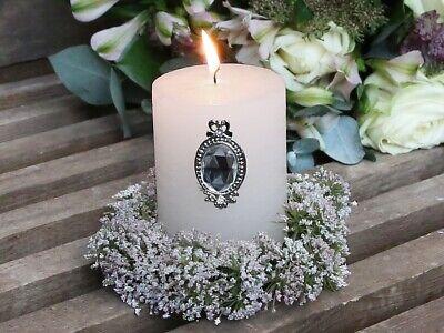 Chic Antique Kerzenstecker Teelichthalter Kerzendekor Kerzenspieß Stecker Shabby