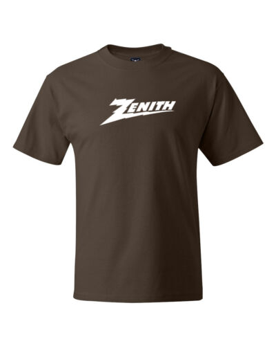 Zenith ElectronicsLogo Tees Retro TV Cable Company T-shirts S-5XL