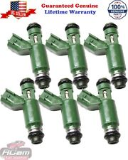OEM Denso Fuel Injector 1X43-AB FOR 2001-08 JAGUAR X TYPE 2.5 3.0 V-6  SET OF 6