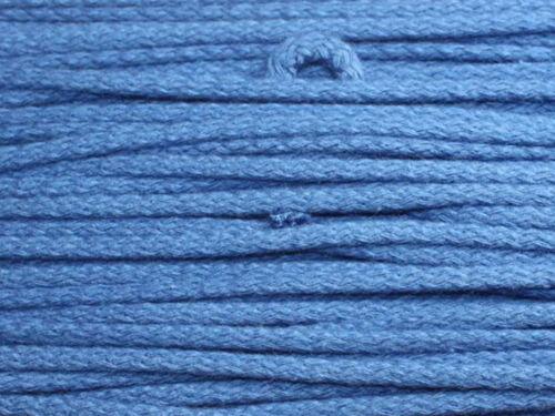 Baumwollkordel 4mm Baumwollschnur Schnur Kordel 0,29€//m 50m
