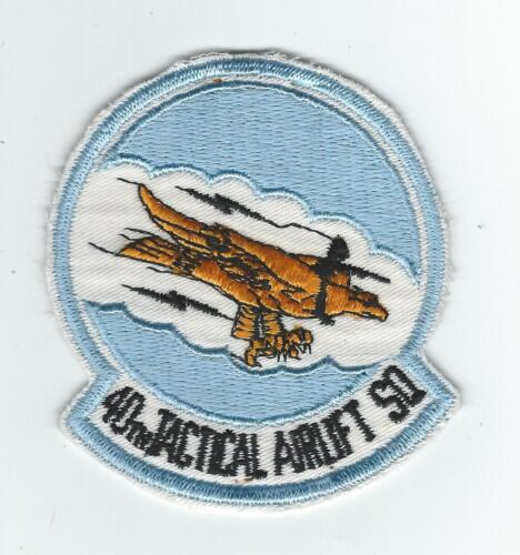 1970's80's 40th TACTICAL AIRLIFT SQUADRON #2 patch