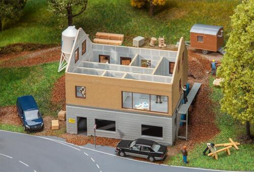 Haus im Bau Miniaturwelten Bausatz H0 Faller 130559 1:87
