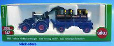 SIKU 1861 / 1:87 Sajjad granjero / Tractor con Colgante de madera