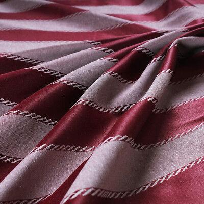 Tessuto al metro per arredamento e tendaggi h.280 Raso Blu Jacquard Medaglione