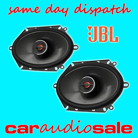 """Jbl gx862 6 /""""x8/"""" 5 /""""x 7/"""" Pulgadas 180 Watts 2 Vias Coaxial De Coche van estantería altavoces"""