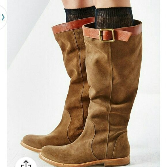 NWOB Nine West Adele Suede Knee High Suede 12 Boots Size 12 Suede 12M 12B 42 NEW 0bd77d
