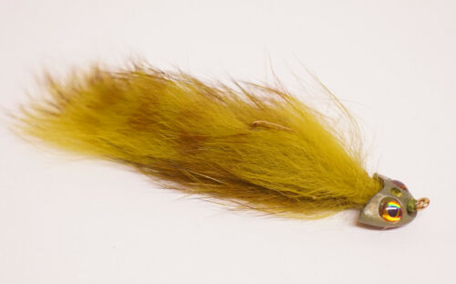 Bunny Sculpin Origi.FishSkull USA 3 Farben #8 Sculpin Helmet PREIS GESENKT 4,99€
