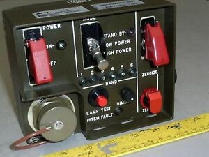 Details about army MRAP IR HID Searchlight Radio Remote AUXILIARY Control  Switch BOX (4 Jammer
