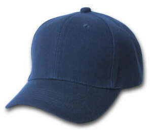 Plain-Fitted-Curve-Bill-Hat-Navy-7-1-8