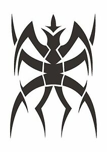 Bio-Mechanical-Spider-Stencil-350-micron-Mylar-not-thin-stuff-TaT0088