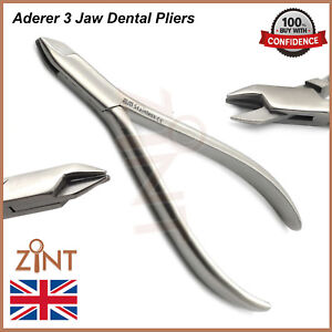 Miraculous Orthodontic Aderer Pliers 3 Jaw Wire Contouring Dental Laboratory Wiring 101 Orsalhahutechinfo