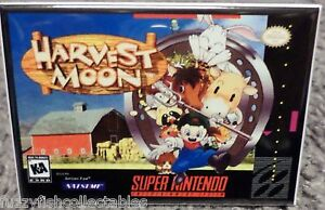 Details about Harvest Moon SNES Game Box 2