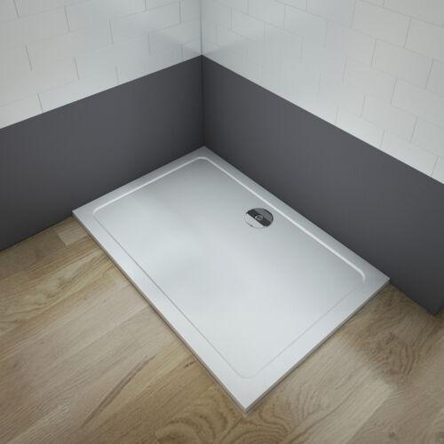 110x90x3 cm Duschtasse Duschwanne Kunststein mit Acrylbeschichtung Brausewanne