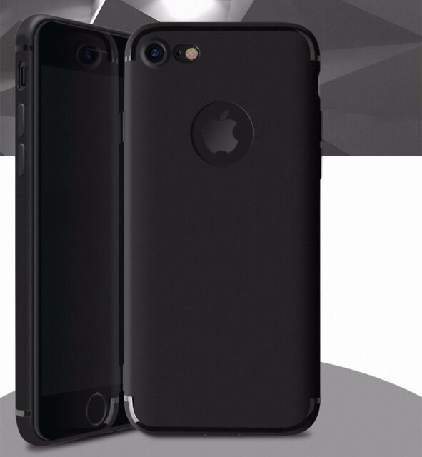 Apple Iphone 7 Case Mobile Phone Case Full Cover Case Backcover TPU Black New