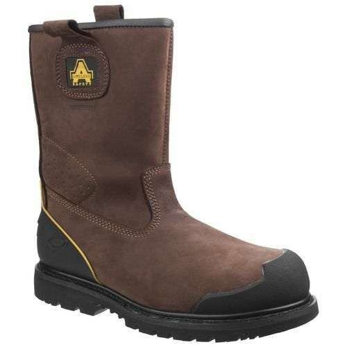 Amblers Safety FS223 Goodyear Welted Waterproof Boots (Brown)